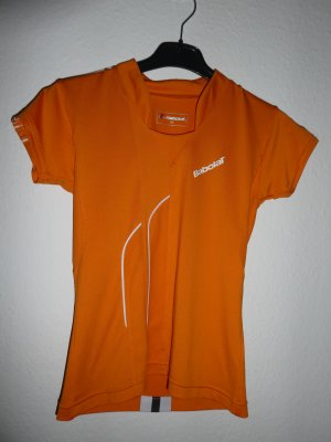Babolat T-shirt de sport orange polyamide