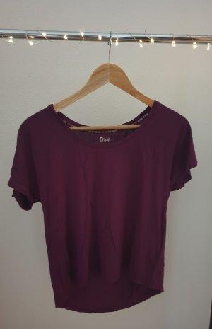 Sportshirt Basicshirt Shirt beere lila von Crivit