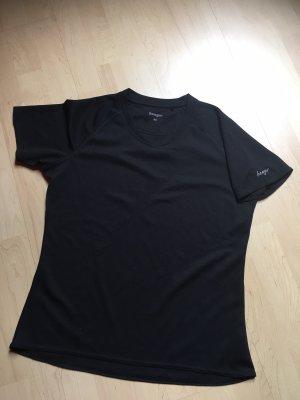benger Maglietta sport nero-bianco