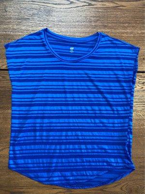 H&M Sport Sports Shirt blue