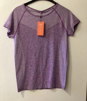 Primark Sports Shirt purple-white