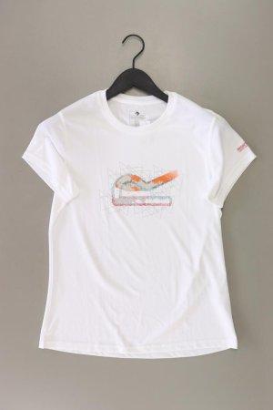 Sportshirt Größe 40 Kurzarm weiß aus Polyester