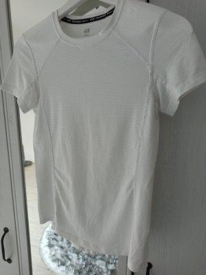 H&M Sport Sports Shirt white