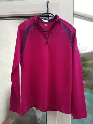 Crane Camisa deportiva púrpura-violeta grisáceo