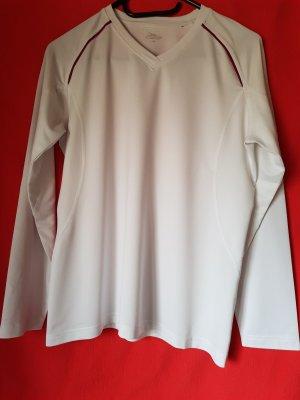 Crane Camisa deportiva blanco-púrpura
