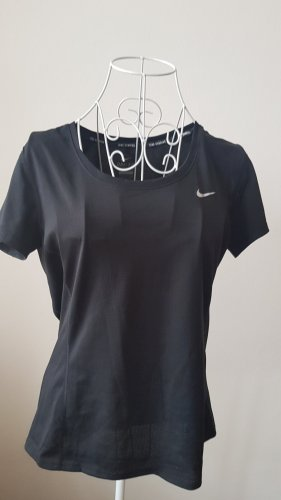Nike Dri-FIT Camisa deportiva negro