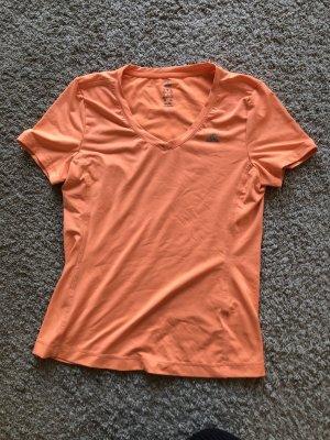 Adidas Koszulka sportowa pomarańczowy Poliester