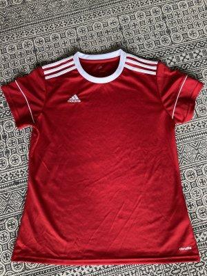 Adidas Sportshirt baksteenrood