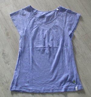 Esprit Sports Sports Shirt purple-pale blue cotton