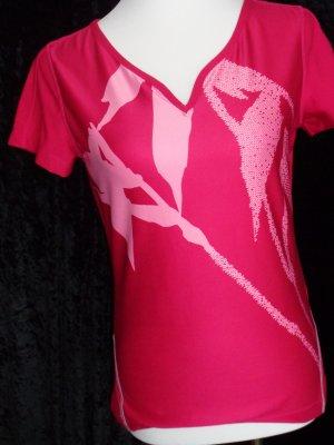 Sportshirt von Mexxsport Gr. M/38 in pink, kaum getragen