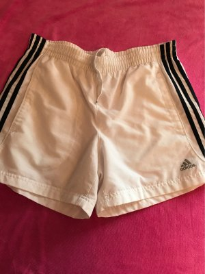 Adidas Short wit-donkerblauw
