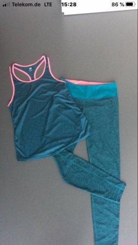 H&M Pantalone da ginnastica multicolore