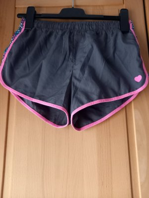 cool club Pantaloncino sport grigio scuro-rosa