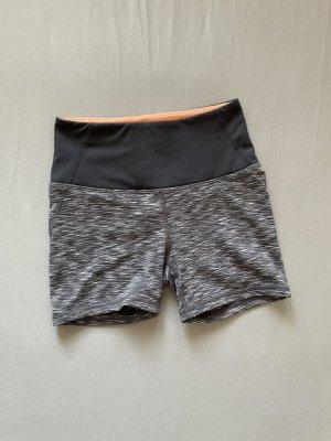 H&M Sport Short de sport gris anthracite-gris