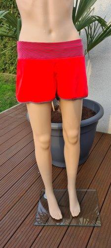keine Pantalón corto deportivo rojo neón-rosa neón