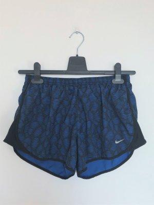 Nike Sportshort zwart-blauw