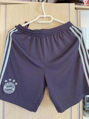 Adidas Pantaloncino sport azzurro-viola-grigio