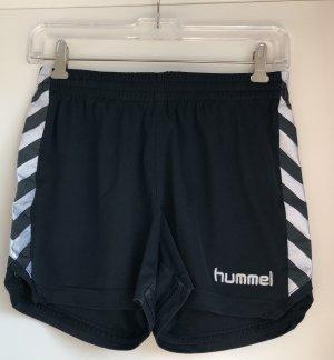 Hummel Pantaloncino sport nero-bianco