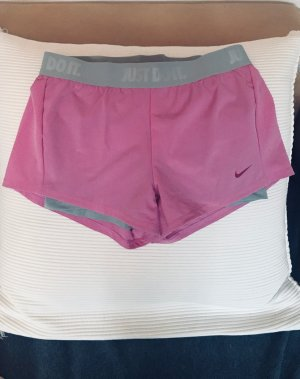 Nike Trackies neon pink-silver-colored