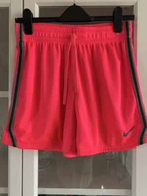 Sportshorts von Nike, Pink neonfarben, Gr. XS