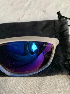 Unbekannte Marke Kwadratowe okulary przeciwsłoneczne niebieski