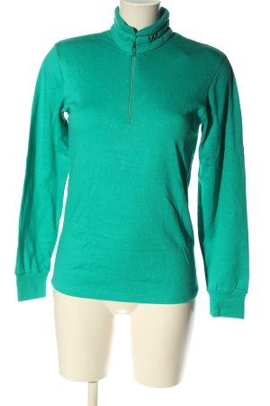 Sportswear Sweatshirt grün Casual-Look