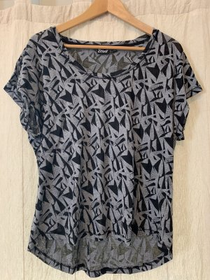 Sportt-Shirt mit schwarz/ grau Print