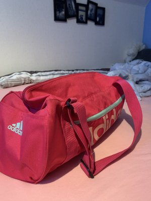 Adidas Bolsa de gimnasio rosa-azul claro
