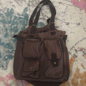 H&M College Bag brown