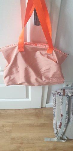 my little box Sac de sport rose chair-orange fluo