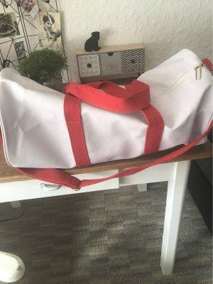 Hugo Boss Sports Bag white-red
