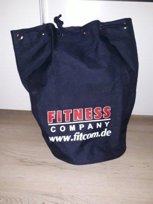Bolsa de gimnasio azul oscuro-azul