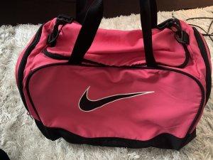 Nike Bolsa de gimnasio negro-magenta
