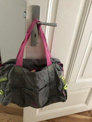 Puma Bolsa de gimnasio gris-rosa