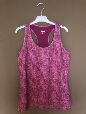 Crane Canotta sportiva viola-rosa
