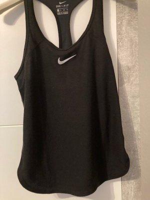 Nike Dri-FIT Top sportowy czarny Poliester