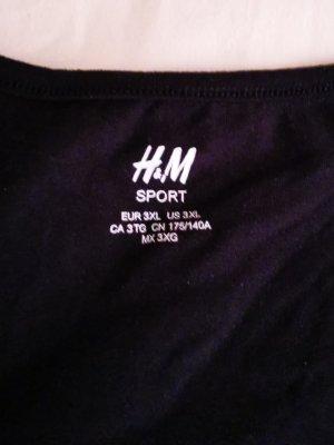 H&M Sport Top deportivo sin mangas negro