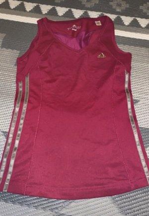 Adidas Top o kroju litery A czerwona jeżyna