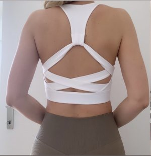 Backless Top white
