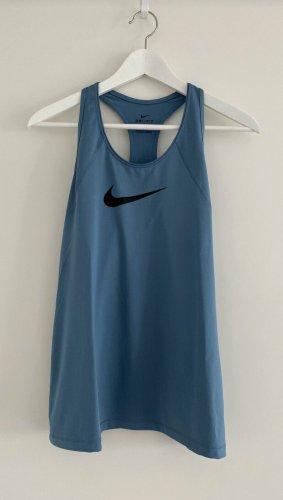 Nike Sporttop korenblauw-zwart