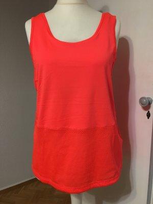 H&M Camisa de tirantes para hombres naranja neón