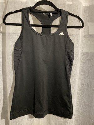 Adidas Top deportivo sin mangas negro