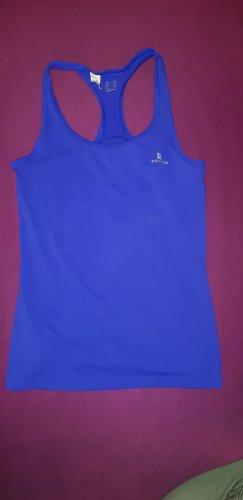 Domyos Sporttop blauw