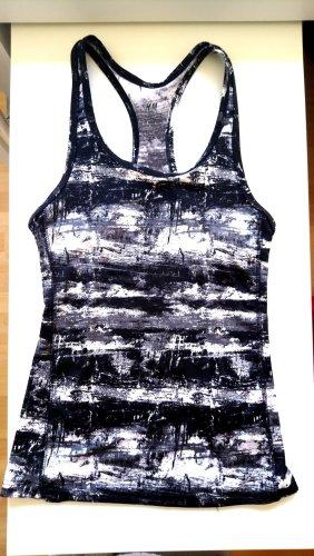 H&M Koszulka sportowa biały-czarny