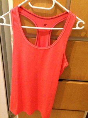 H&M Sportshirt zalm-lichtrood