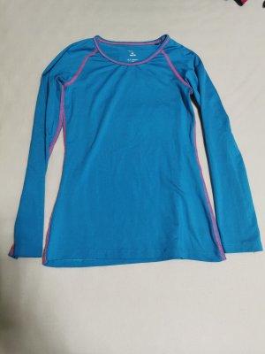 Maglietta sport rosa-blu neon