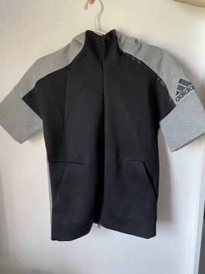 Adidas Gilet de sport noir-gris