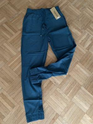 Pantalon chinos bleu cadet-bleu pétrole