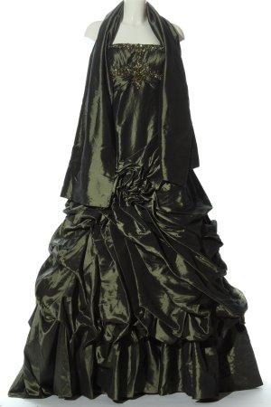 Sposa Toscana Suknia balowa khaki Wyhaftowany logo Elegancki