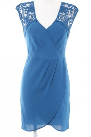 Spotlight by Warehouse Chiffonkleid blau Elegant